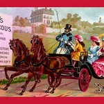 Barry's Tricopherous - Coach Ride - Art Print