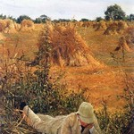 94 Degrees in the Shade by Sir Lawrence Alma-Tadema - Art Print