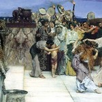 A Consecration of Bacchus, Detail [1] by Sir Lawrence Alma-Tadema - Art Print