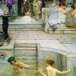 A Favorite Tradition by Sir Lawrence Alma-Tadema - Art Print