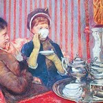 A Cup of tea #2 by Mary Cassatt - Art Print