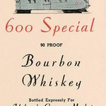 600 Special Bourbon Whiskey - Art Print