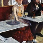 Absinthe by Edward Degas - Art Print