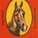 The Fine Horse Safety Matches - Art Print