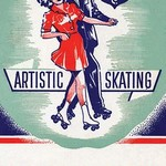 Artistic Skating #2 - Art Print