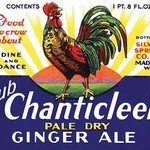 Club Chanticleer Pale Dry Ginger Ale - Art Print