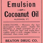 Beaton's Emulsion of Cocoanut Oil - Art Print