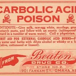 Carbolic Acid Poison - Art Print
