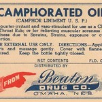 Camphorated Oil - Liniment - Art Print