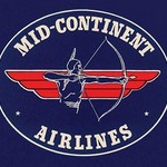 Mid-Continent Airlines - Art Print