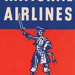Nation Airlines - The Buccaneer Route - Art Print