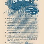 Reasons Why Friends' Oats are the Best - Art Print