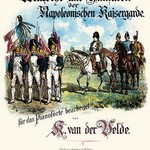 March and Fanfare of Emperor Napoleon's Guards - Art Print
