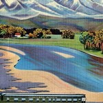 A Northern Pacific Passenger Excursion - Art Print