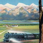 The Northern Pacific Scenic Route - Art Print