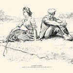 A Little Incident by Charles Dana Gibson - Art Print
