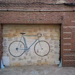 Bicycle Door by Jason Pierce - Art Print