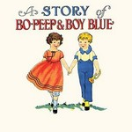 A Story of Bo Peep & Boy Blue by Queen Holden - Art Print