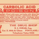 Carbolic Acid - Posion - Art Print