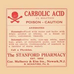 Carbolic Acid - Posion - Caution - Art Print
