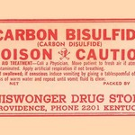 Carbon Bisulfide - Art Print