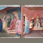 Christ in front of Pilate by Fra Angelico - Art Print