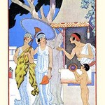 Ancient Greece by George Barbier - Art Print