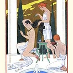 Ancient Rome by George Barbier - Art Print