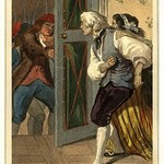 The Denunciator & the Suspect by L. Massard - Art Print