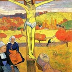 The Yellow Christ by Paul Gauguin - Art Print