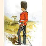 23rd Royal Fusiliers by Walter Richards - Art Print