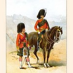 72nd Seaforth Highlanders by Walter Richards - Art Print