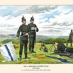 1st Middlesex Victorian Rifles - Volunteers by Walter Richards - Art Print