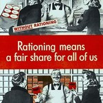Rationing Means A Fair Share - Art Print