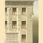 Viennese Facade - Austria by Otto Wagner - Art Print