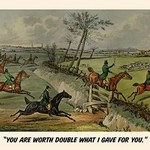 You are Worth Double What I gave you by Henry Alken - Art Print