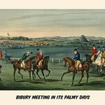 Bibury Meeting in its Palmy Days by Henry Alken - Art Print