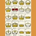 A Throne is a bench covered in Velvet by Hugh Clark - Art Print