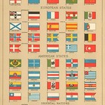 Flags of Foreign Nations, 1880 - Art Print