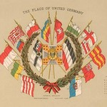 The Flags of United Germany - Art Print