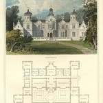 A Mansion in the Stuart Style, James I by Richard Brown #2 - Art Print