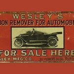 Wesley's Carbon Remover for Automobiles - Art Print