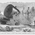 13' Mortar with 7 Gunners by Frank Leslie - Art Print
