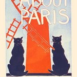 About Paris by Edward Penfield - Art Print