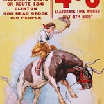 Adams Rodeo Company Celebration by Riverside Print - Art Print