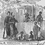 African Americans at a Virginia Hotel by Frank Leslie - Art Print