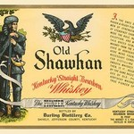 Old Shawhan Kentucky Straight Bourbon Whiskey - Art Print