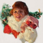 Christmas Surprise by Ronald Lee Anderson - Art Print