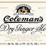 Coleman's Dry Ginger Ale - Art Print