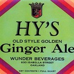 Hy's Old Style Ginger Ale - Art Print